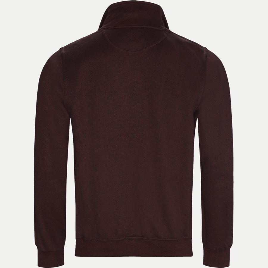 BILBAO - Bilbao Sweatshirt - Sweatshirts - Regular - BORDEAUX MEL - 2